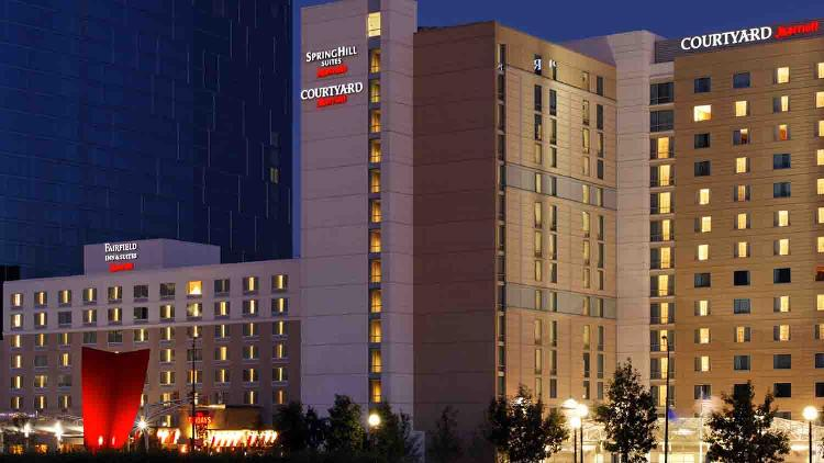 Courtyard marriott downtown 1 list