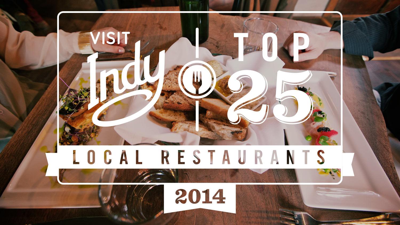 Top 25 local restaurants 2014