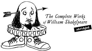 Shakespeareabridged list