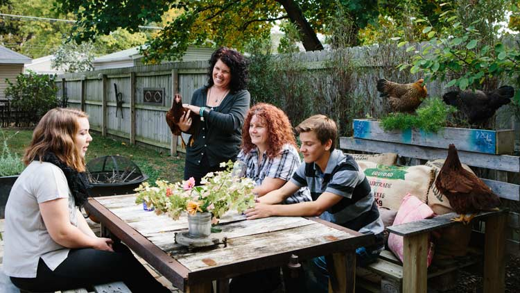Jamie and Martine Backyard