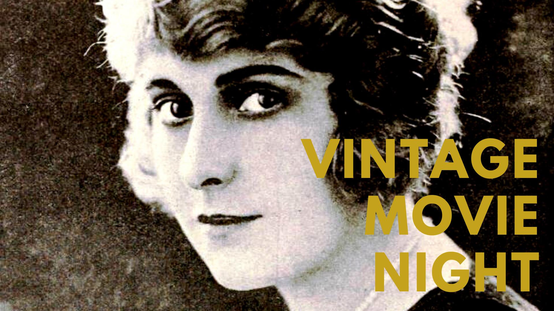 Vintage Movie Night - Silent Stars on Radio