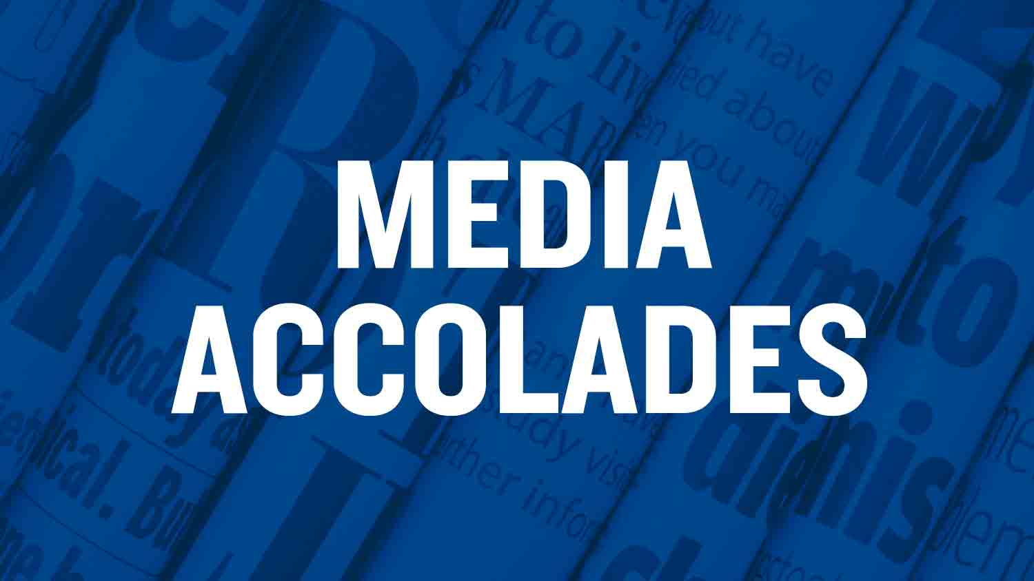 Toolkit media accolades