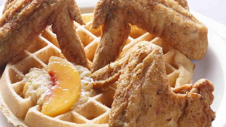 Maxine's Chicken and Waffles at the City Market