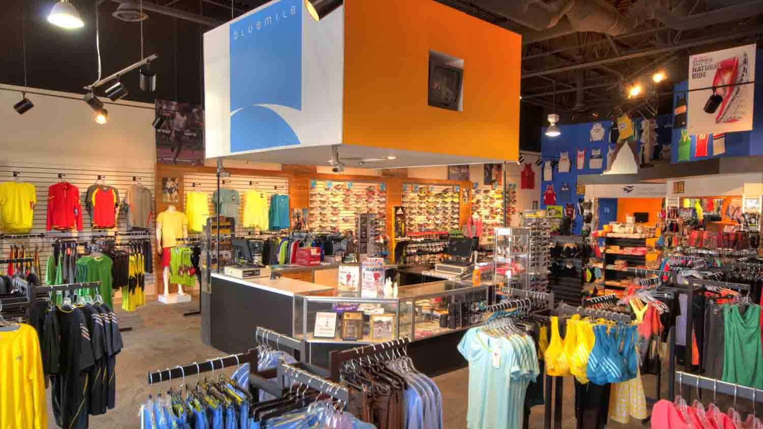 Bluemile Running Store 1