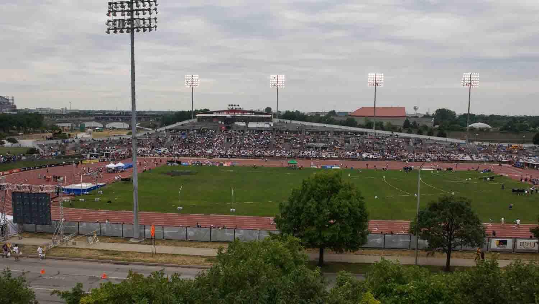 Iu michael carroll track soccer stadium 5