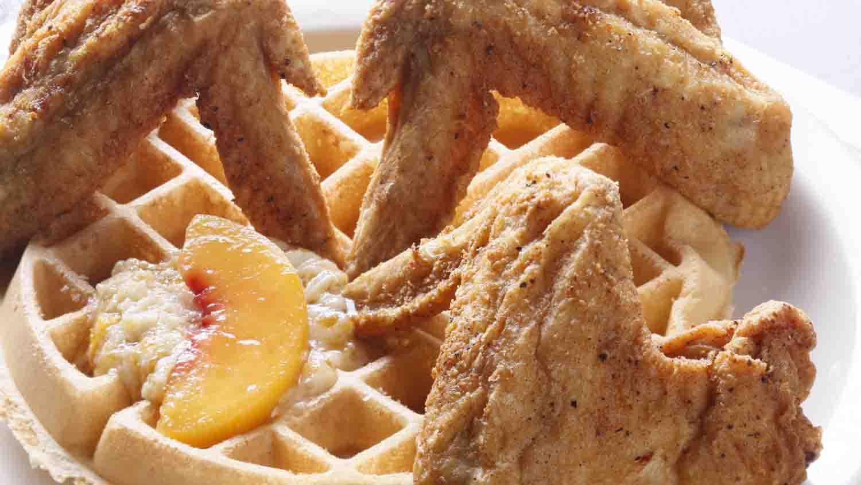 Maxines chicken waffles 1