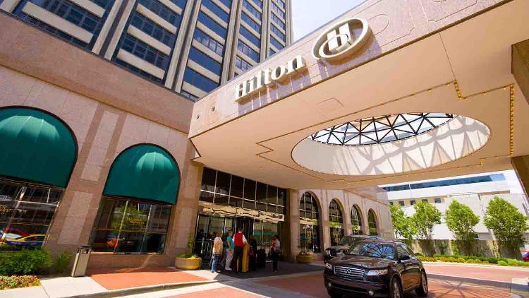 Hilton indianapolis 2 list