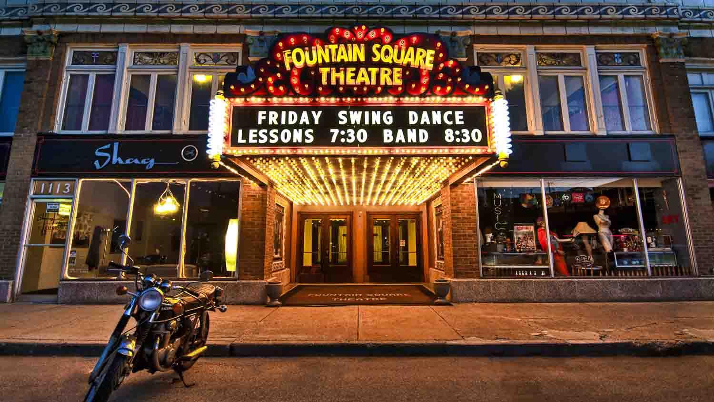 Fountain square theatre building 2