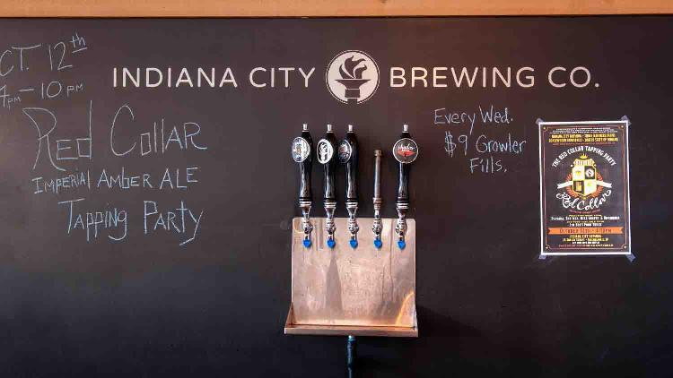 Indiana city brewing 2 list