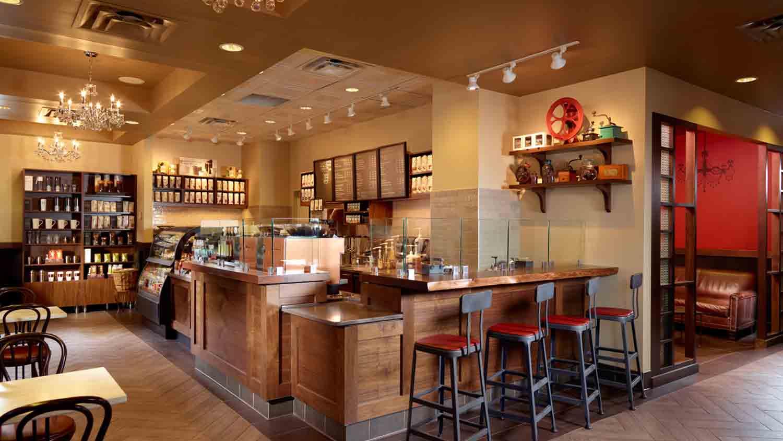 Starbucks at Omni Severin Hotel