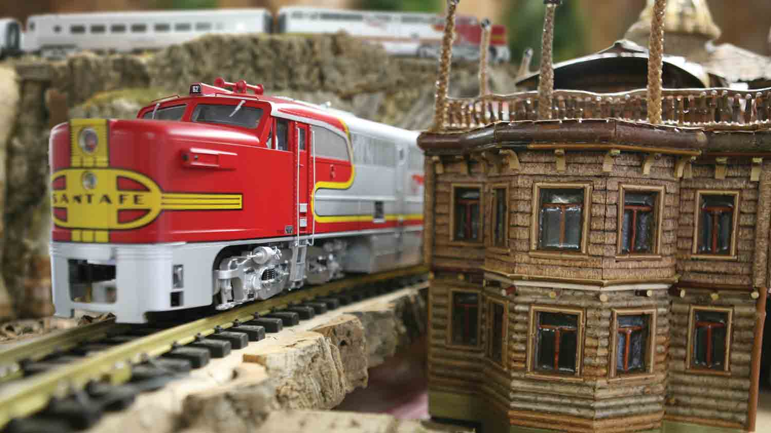 Jingle Rails - The Western Rail Adventure