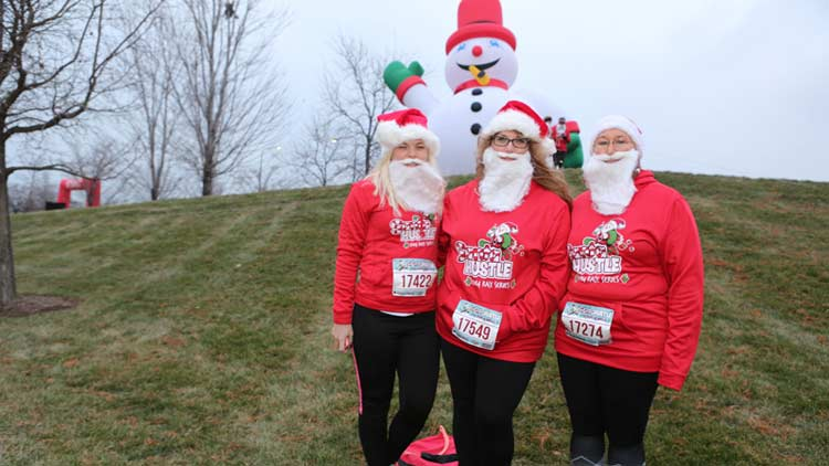 Santa Hustle Indy 5k and Half Marathon 3