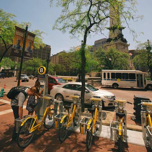 Urban adventurers bikeshare