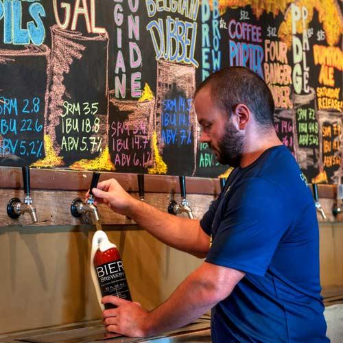 Urban adventurers beer