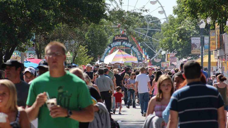 Indiana state fair 5 list