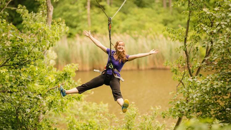 Go Ape Treetop Adventure 13