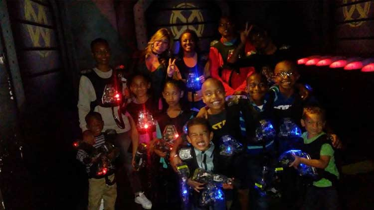 Red Planet Laser Tag