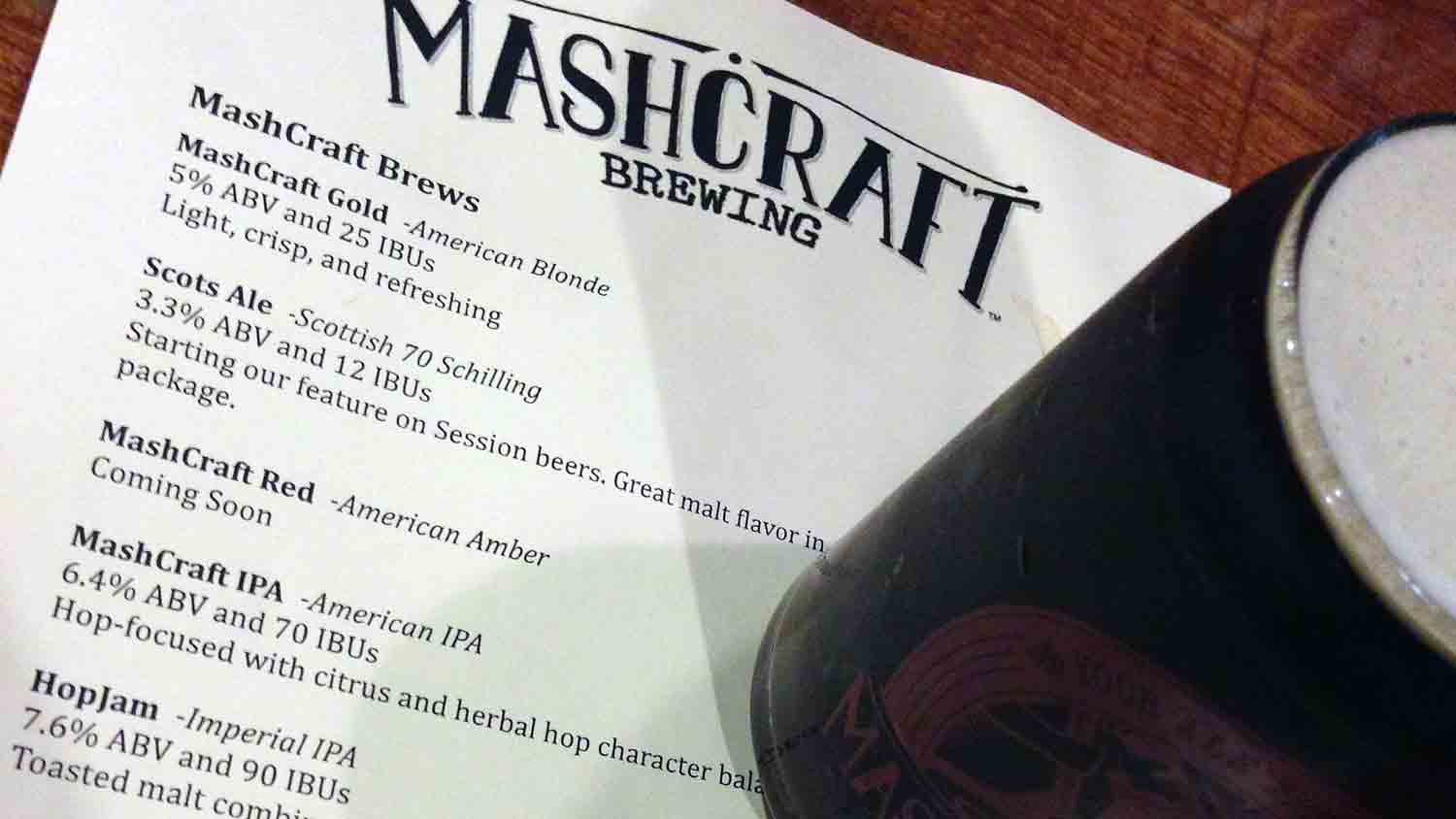 MashCraft Indy Taproom
