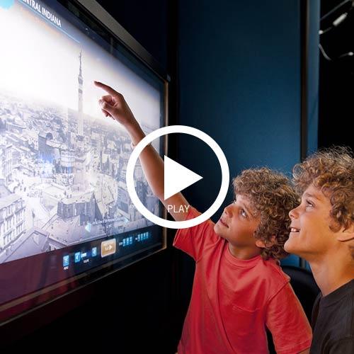 History buffs history center video