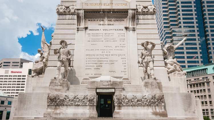 Soldiers & Sailors Monument/Monument Circle 8