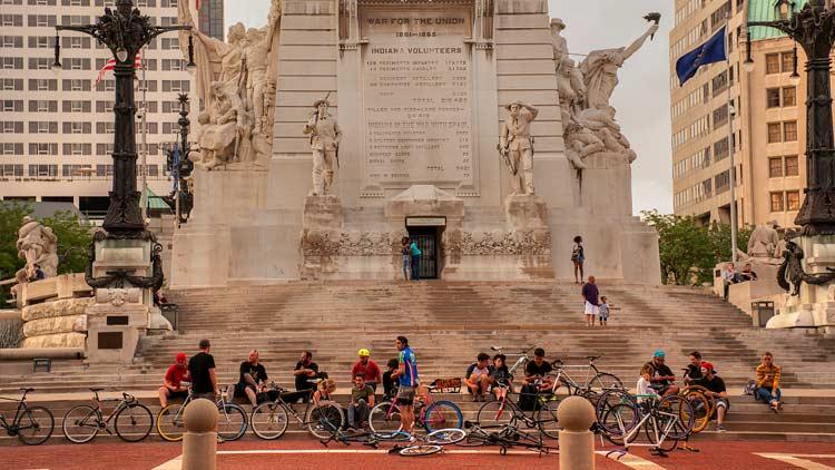 Soldiers & Sailors Monument/Monument Circle 10