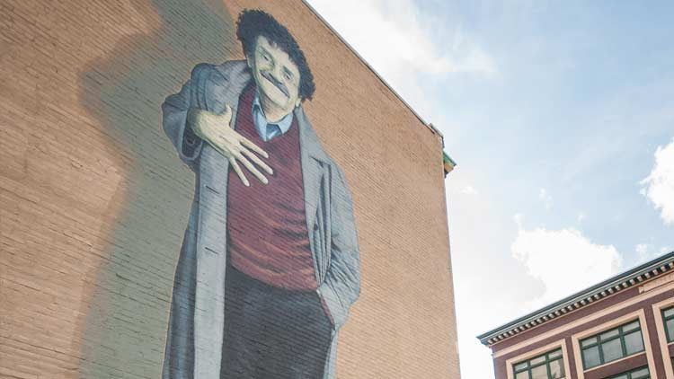 Your Self-Guided Tour to Vonnegut's Indy