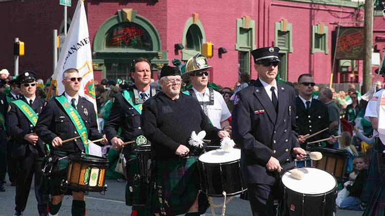 St. Patrick's Day Parade and Block Party