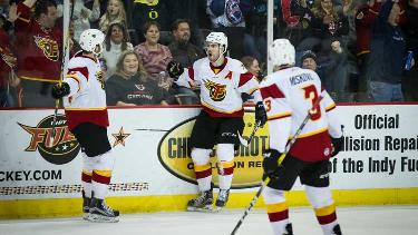 Toledo Walleye vs. Indy Fuel
