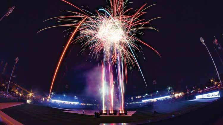 Fridays Fireworks with the Indianapolis Indians 2