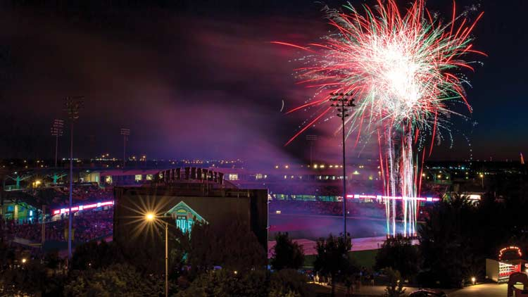 Fridays Fireworks with the Indianapolis Indians 5