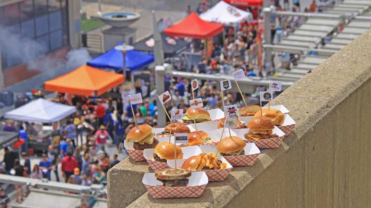 Building Tomorrow's Annual Indy Burger Battle