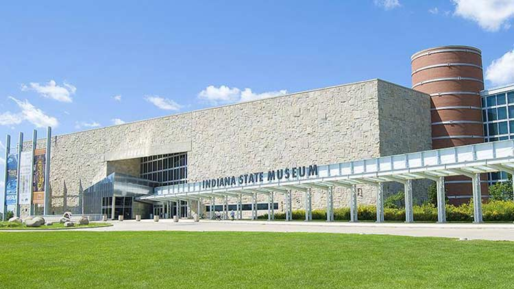 Indiana State Museum Lawn