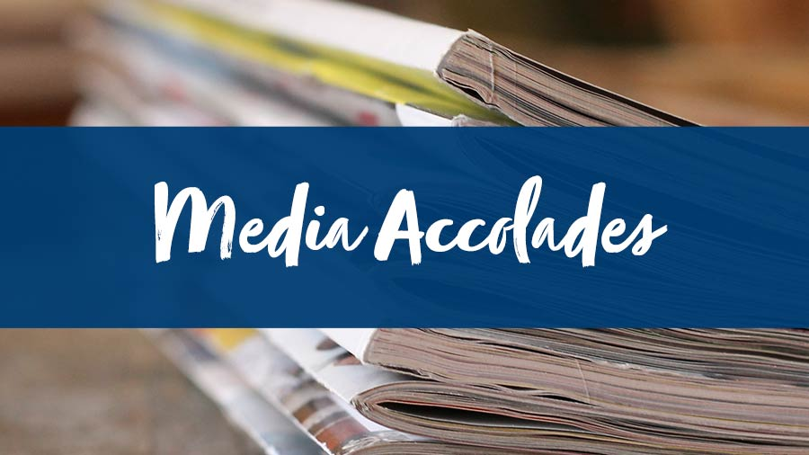 Planner Marketing Toolkit Features: Media Accolades