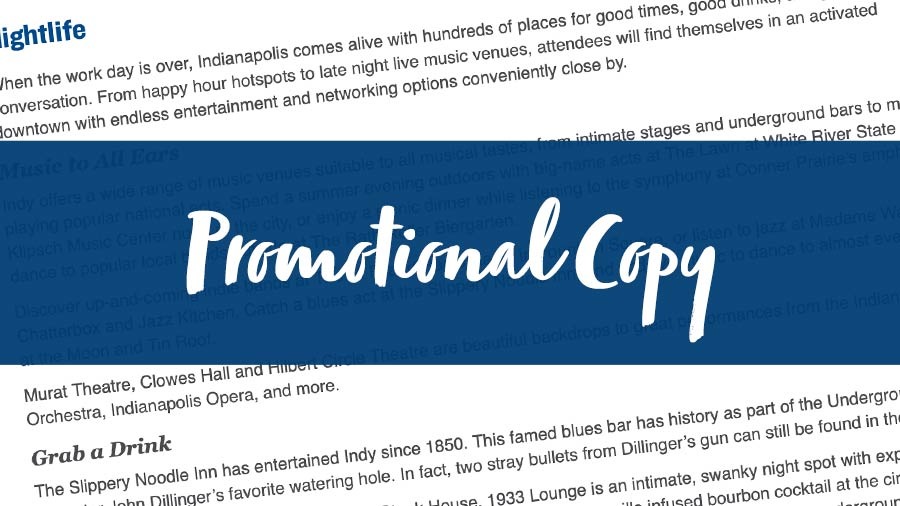 Planner Marketing Toolkit Features: Promotional Copy