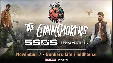 The Chainsmokers World War Joy Tour
