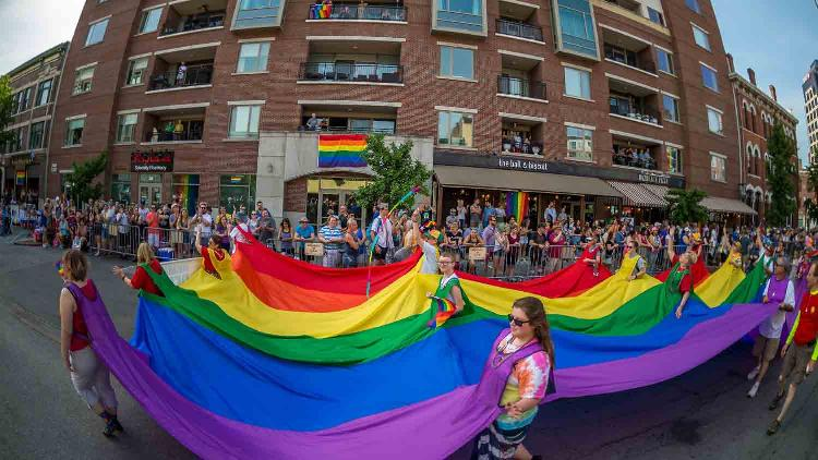 Cadillac Barbie IN Pride Parade