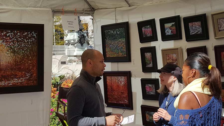 Monument Circle Art Fair 7