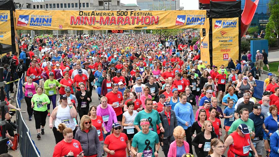 500 Festival Mini-Marathon