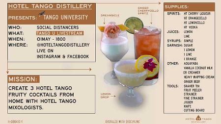 Virtual Happy Hour & DIY Cocktails