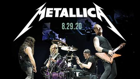 Metallica with Three Days Grace