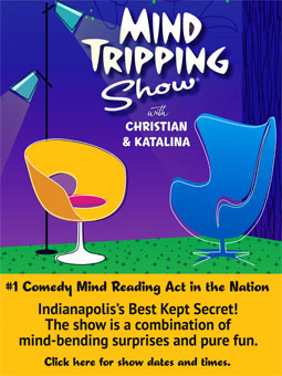 Indianapolis's Best Kept Secret Married to Magic. Mind Tripping Package Ad 040121 Tower