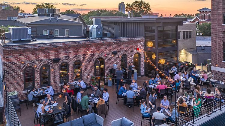 Best Places to Wine and Dine with a View of Indy